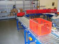 Transport- und Verpackungslinien