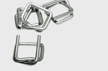 Metallschnallen für PET-Fadenbänder